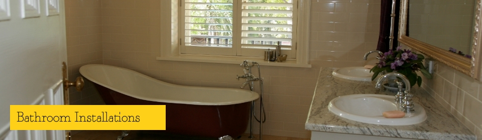 Bathroom Installations & Renovations